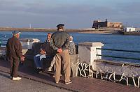 Spanien, Kanarische Inseln, Lanzarote, Arrecife, Hafenpromenade