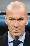 Zinedine Zidane Head Coach of Real Madrid during the Europe Champions League 2017-18 match between Real Madrid and Borussia Dortmund at Santiago Bernabeu Stadium on 06 December 2017 in Madrid Spain. Photo by Diego Gonzalez / Power Sport Images