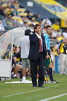 3 JULY 2010:  Carlos de los Cobos during MLS soccer game between Chicago Fire vs Columbus Crew at Crew Stadium in Columbus, Ohio on July 3, 2010.
