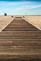 Santa Monica beach, CA, Boardwalk, healthy lifestyle, walkable, pedestrian-friendly Beach