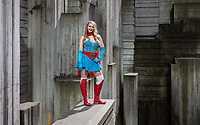 Bombshell Supergirl, Emerald City Comicon, Seattle, Wa.