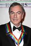 Neil Diamond.arriving for the 34th Kennedy Center Honors Presentation at Kennedy Center in Washington, D.C. on December 4, 2011