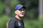 CARY, NC - JUNE 29: Paul Riley. The North Carolina Courage held a training session on June 29, 2017, at WakeMed Soccer Park Field 6 in Cary, NC.