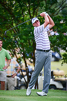 Steve Stricker (USA) watches his tee shot on 7 during round 2 of the Dean &amp; Deluca Invitational, at The Colonial, Ft. Worth, Texas, USA. 5/26/2017.<br /> Picture: Golffile | Ken Murray<br /> <br /> <br /> All photo usage must carry mandatory copyright credit (&copy; Golffile | Ken Murray)