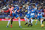 League Santander 2017-2018 - Game: 15.<br /> RCD Espanyol vs Girona FC: 0-1.<br /> Leo Baptistao.