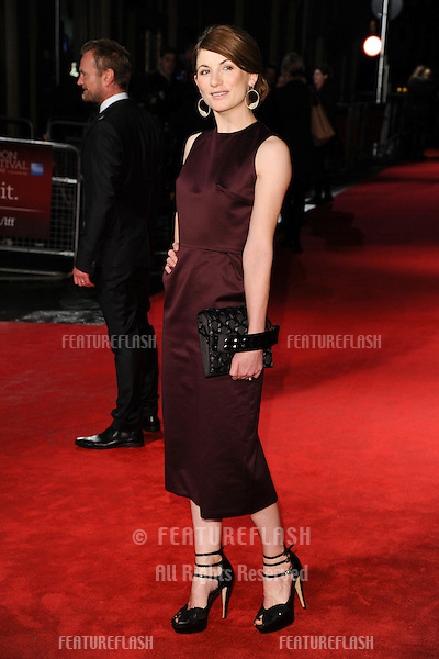 "Jodie Whittaker at the premiere of ""Good Vibrations"" being shown as part of the London Film Festival 2012, Odeon Leicester Square, London. 19/10/2012 Picture by: Steve Vas / Featureflash"