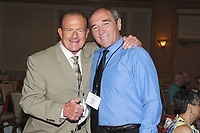 LAS VEGAS, NV - MAY 01: B. Brian Blair and Steve Keirn at the 53rd Cauliflower Alley Club Reunion Convention at the Gold Coast Hotel & Casino in Las Vegas, Nevada on May 1, 2018. Credit: George Napolitano/MediaPunch