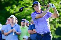 Jordan Spieth (USA) watches his tee shot on 11 during round 2 of the Shell Houston Open, Golf Club of Houston, Houston, Texas, USA. 3/31/2017.<br /> Picture: Golffile | Ken Murray<br /> <br /> <br /> All photo usage must carry mandatory copyright credit (&copy; Golffile | Ken Murray)