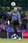 Zinedine Zidane of Real Madrid during the training session ahead the UEFA Champions League Final between Real Madrid and Juventus at the National Stadium of Wales, Cardiff, Wales on 2 June 2017. Photo by Giuseppe Maffia.<br /> Giuseppe Maffia/UK Sports Pics Ltd/Alterphotos