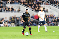 LOS ANGELES, CA - MARCH 08: Mark-Anthony Kaye #14 of LAFC against Philadelphia Union during a game between Philadelphia Union and Los Angeles FC at Banc of California Stadium on March 08, 2020 in Los Angeles, California.