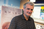 "Director Asier Altuna during the presentation of the film ""Amama"" at Golem Cinemas in Madrid, Ocotber 13, 2015.<br /> (ALTERPHOTOS/BorjaB.Hojas)"