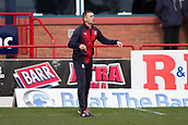 17th March 2019, Dens Park, Dundee, Scotland; Ladbrokes Premiership football, Dundee versus Celtic; Dundee manager Jim McIntyre