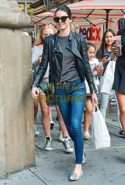 NEW YORK, NY - AUGUST 29: Kendall Jenner walking in Soho in New York, New York on August 29, 2014. <br /> CAP/MPI67<br /> &copy;MPI67I/Capital Pictures