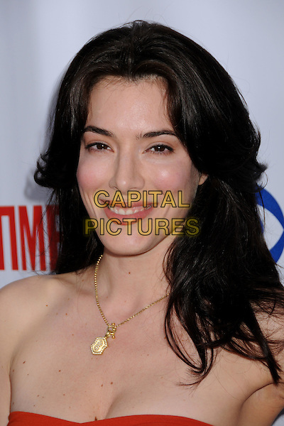 JAIME MURRAY.CBS, CW and Showtime TCA Press Tour Party at Boulevard 3, Hollywood, California, USA..July 18th, 2008.headshot portrait jamie gold necklace strapless .CAP/ADM/BP.©Byron Purvis/AdMedia/Capital Pictures.