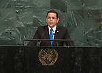 Opening of GA 72 2017 PM<br /> <br /> His Excellency Jimmy Morales, President of the Republic of Guatemala