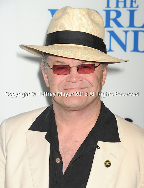 HOLLYWOOD, CA- AUGUST 21: Musician Micky Dolenz arrives at the Los Angeles premiere of 'The World's End' at ArcLight Cinemas Cinerama Dome on August 21, 2013 in Hollywood, California.