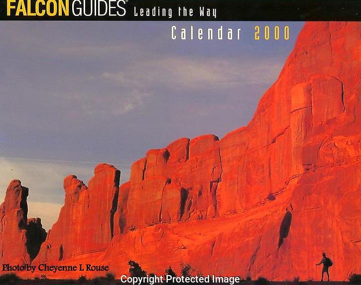 Falcon Guide 2000 Calendar<br /> Cover