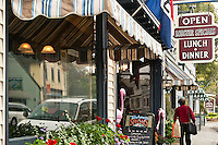 Shops, Southwest Harbor, Maine, ME, USA