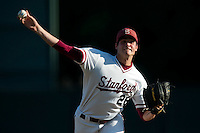 STANFORD, CA--Starting pitcher Mark Appel worked the full game during the first round of the NCAA Regional as the Stanford Cardinal took on the Fresno State Bulldogs at Sunken Diamond field.