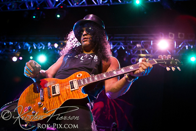 Slash featuring Myles Kennedy and The Conspirators perform at House of Blues July 8, 2013