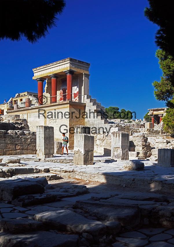 Griechenland, Kreta, Knossos: Palast von Knossos - Bastion | Greece, Crete, Knosós: Palace of Knosós