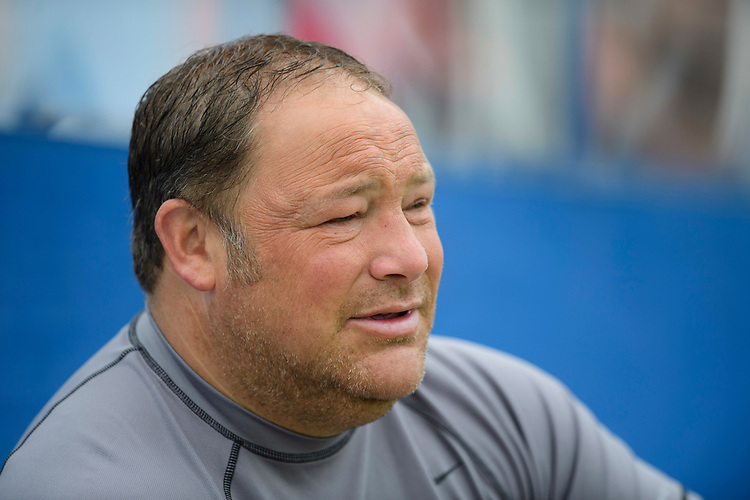 Lincoln United manager Steve Housham<br /> <br /> Photographer Chris Vaughan/CameraSport<br /> <br /> Football Pre-Season Friendly (Community Festival of Lincolnshire) - Lincoln City v Lincoln United - Saturday 6th July 2019 - The Martin & Co Arena - Gainsborough<br /> <br /> World Copyright © 2018 CameraSport. All rights reserved. 43 Linden Ave. Countesthorpe. Leicester. England. LE8 5PG - Tel: +44 (0) 116 277 4147 - admin@camerasport.com - www.camerasport.com