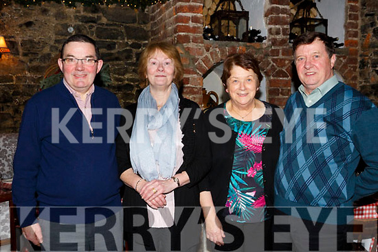 Bride O'Donoghue of Scartaglin in Finnegans celebrating her birthday with family on Saturday night last, l-r, John, Bride, Eileen and James O'Donoghue.
