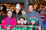 Abbie McCarthy, Aoife, Greyson, Freya, Tony and Marie Power Beaufort at the Kiilarney Christmas parade on Saturday night