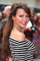 Lizzie Cundy arriving for the Postman Pat Premiere, Odeon West End, London. 11/05/2014 Picture by: Alexandra Glen / Featureflash