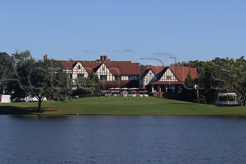 September 23, 2016:     23.09.2016. Atlanta, Georgia, USA.  View of the clubhouse at the second round of the 2016 PGA Tour Championship at East Lake Golf Club in Atlanta, Georgia.