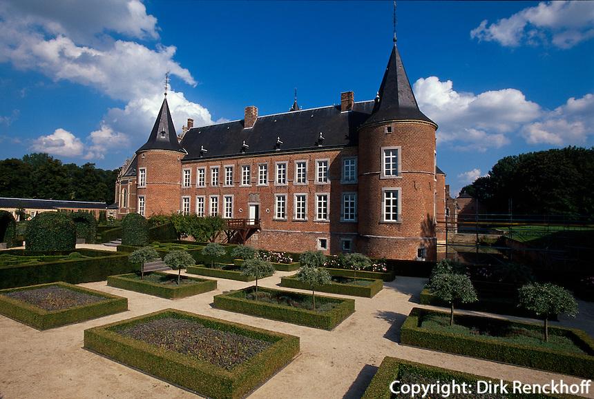 Belgien, Flandern, Schloss Alden Biesen in der Provinz Limburg