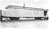 #0566 coach-work-living car.  3/4 view.<br /> D&amp;RGW  Durango ?, CO  Taken by Richardson, Robert W.