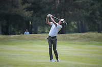Richard Green (AUS) during Round Three of the 2016 BMW PGA Championship over the West Course at Wentworth, Virginia Water, London. 28/05/2016. Picture: Golffile   David Lloyd. <br /> <br /> All photo usage must display a mandatory copyright credit to © Golffile   David Lloyd.