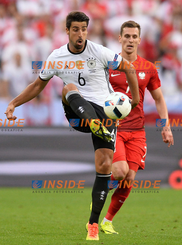 Sami Khedira (ger) <br /> Paris 16-06-2016 Stade de France Football Euro2016 Germany - Poland / Germania - Polonia Group Stage Group C. Foto Anthony Bibard / Panoramic / Insidefoto