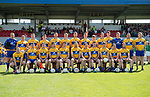The Clare team before their Munster championship quarter-final game against Limerick in Cusack park. Photograph by John Kelly.