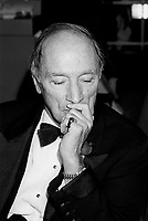 October 30, 1987 File Photo - Pierre Eliott Trudeau