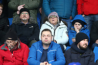 Blackburn Rovers' fans enjoy the atmosphere inside the stadium<br /> <br /> Photographer David Shipman/CameraSport<br /> <br /> The EFL Sky Bet Championship - Sheffield Wednesday v Blackburn Rovers - Saturday 16th March 2019 - Hillsborough - Sheffield<br /> <br /> World Copyright &copy; 2019 CameraSport. All rights reserved. 43 Linden Ave. Countesthorpe. Leicester. England. LE8 5PG - Tel: +44 (0) 116 277 4147 - admin@camerasport.com - www.camerasport.com
