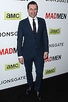 "HOLLYWOOD, LOS ANGELES, CA, USA - APRIL 02: Jon Hamm at the Los Angeles Premiere Of AMC's ""Mad Men"" Season 7 held at ArcLight Cinemas on April 2, 2014 in Hollywood, Los Angeles, California, United States. (Photo by Xavier Collin/Celebrity Monitor)"