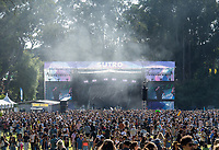 SAN FRANCISCO, CALIFORNIA - AUGUST 09: Fans / Atmosphere at the Sutro stage during the 2019 Outside Lands music festival at Golden Gate Park on August 09, 2019 in San Francisco, California.    <br /> CAP/MPI/ISAB<br /> ©ISAB/MPI/Capital Pictures