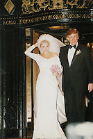 Donald Trump &amp; Marla Maples Wedding 1993 NYC<br />