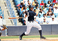 May 13, 2010: Infielder Bradley Suttle of the Tampa Yankees during a game at George M Steinbrenner Field in Tampa, FL. Tampa is the Florida State League High Class-A affiliate of the New York Yankees. Photo By Mark LoMoglio/Four Seam Images