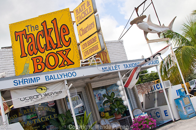 The Tackle Box is a great place for bait, tackle, local fishing advice, etc.