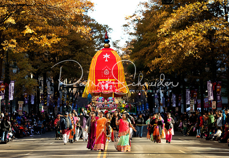 11/28/19: Photography coverage 72nd annual Novant Health Thanksgiving Day Parade in Uptown/Downtown Charlotte, North Carolina.<br /> <br /> Charlotte Photographer - Patrick SchneiderPhoto.com