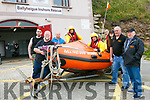 Ballyheigue Inshore Rescue Open Day at the Boathouse on Dromature Pier on Sunday Pictured Kevin Faye, Brian Lucid, Ray Garvey, Steve O'Connor, Tim Aslett, Shane O'Halloran, Jemma O'Regan, Sean Lucid, Ted Coates