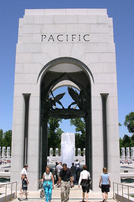 WWII Memorial Pacific Pavilion, Washington, DC