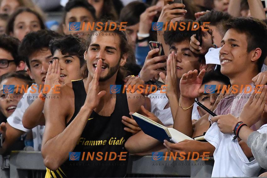 Gianmarco TAMBERI ITA High Jump<br /> Roma 02-06-2016 Stadio Olimpico <br /> IAAF Diamond League Golden Gala <br /> Atletica Leggera<br /> Foto Andrea Staccioli / Insidefoto