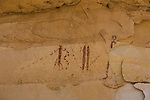 The Ascending Sheep pictograph panel, on the Molen Reef on the western edge of the San Rafael Swell in Utah, is an example of Barrier Canyon-style rock art and was painted between 1,500 and 4,000 years ago.