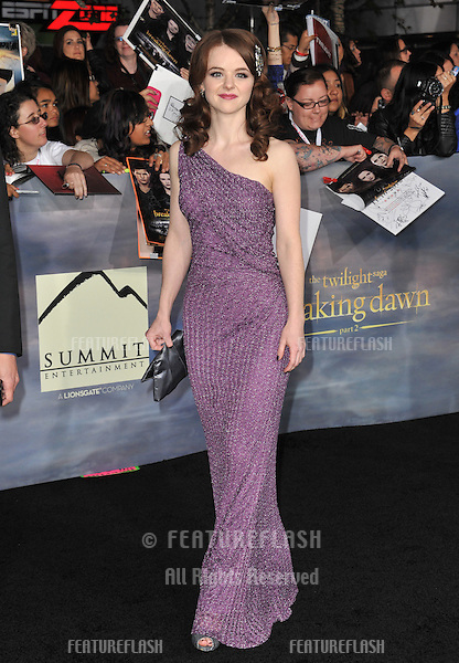 "Marlane Barnes at the world premiere of her movie ""The Twilight Saga: Breaking Dawn - Part 2"" at the Nokia Theatre LA Live..November 12, 2012  Los Angeles, CA.Picture: Paul Smith / Featureflash"