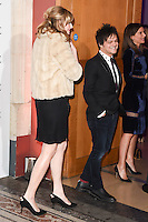 Sophie Dahl and Jamie Cullam<br /> at the Vogue 100: A Century of Style exhibition opening held in the National Portrait Gallery, London.<br /> <br /> <br /> ©Ash Knotek  D3080 09/02/2016