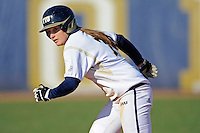 13 February 2010:  FIU's Kayla Burri (7) runs to third as the FIU Golden Panthers defeated the University of Illinois (Chicago) Flames, 2-1, at the University Park Stadium in Miami, Florida.
